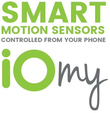 Smart motion sensors controlled from your phone